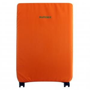 Чехол для чемодана ХL (большой оранжевый)
