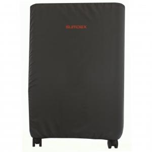 Чехол для чемодана М (маленький серый)