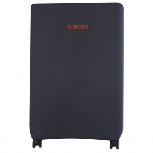 Чехол для чемодана М (маленький синий)